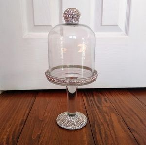 Sparkling Glass Cup Cake Stand